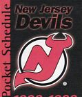 1980's to 2000's NHL New Jersey Devils Hockey Schedule - U-Pick From List $3.95 CAD on eBay