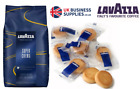 Lavazza Super Crema Coffee Beans 1- 6 x 1kg Optional 200 x Lavazza Biscuit Offer