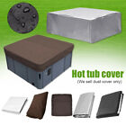 14 Kinds Oxford Fabric Hot Tub Spa Cover Waterproof Dust Protector Case Yard