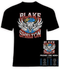 Blake Shelton 2020 Friends and Heros Concert Tour Gildan Cotton T-Shirt image
