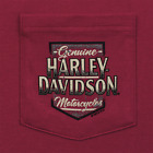 Snake Harley-Davidson Men's Scratched Name Pocket Tee R003340 $35.0 USD on eBay