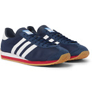 NEW adidas Originals Men's COUNTRY OG SHOES Collegiate Navy/White/Scarlet Red