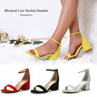 Kyпить Women's Low Block Heels Chunky Sandals Ankle Strap Wedding Dress Pump Shoes US на еВаy.соm