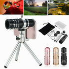12x Zoom Optical Lens Monocular Telescope+ Mini Tripod+ Clip For Universal Phone image