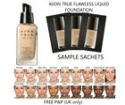 Avon True IDEAL FLAWLESS Foundation SAMPLE SACHET All Shades **FREE P