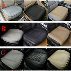 Car PU Leather Front Seat Cover Breathable Protector Chair Cushion Pad Mat USA $25.0 USD on eBay
