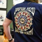 T-shirt Dogfish American Beauty Grateful Dead Blue Navy Size US S-3XL Cotton