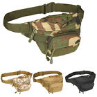 Unisex Utility Waist Pack Pouch Military Hiking Riding Fanny Belt Bag Waterproof
