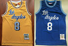 Kobe Bryant #8 Los Angeles Lakers 1996-97 Throwback Jersey - Gold / Blue on eBay