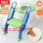 US Kids Potty Training Seat W/ Step Stool Ladder Child Toddler Toilet Chair  image