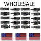 NEW Male Female M/F Wire Cable Connector Set Solar Panel 30A Waterproof