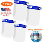 Kyпить Safety Full Face Shield Clear Glasses Dust-proof Protector Eye Anti Splash 4Pack на еВаy.соm