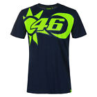 Valentino ROSSI VR46 2020 Moto GP Short Sleeve Sun and Moon T Shirt - Mens