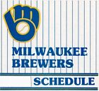 1970's to 2000's MLB Milwaukee Brewers Baseball Schedule - U-Pick From List on Ebay