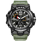 SMAEL Mens Sport Waterproof Date Watch Military Tactical Quartz Wrist Watches US image