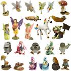 Fiddlehead Miniature Fairy Garden Figurines Dragon Fairies Unicorn Owl Ornaments