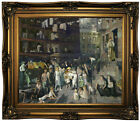 Bellows Cliff Dwellers 1913 Wood Framed Canvas Print Repro 20x24