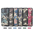 Camouflage Leather Pu Pocket Wallet Case For Iphone 11 Pro Max Xr Xs 6 7 8 Plus