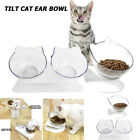 Removable Oblique Pet Bowl Non-slip Cats Dogs Food Water Feeder Holder Elevated