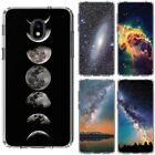 for Samsung Galaxy J7v 2018/Refine/Aero/Star/Crown(Clear)TPU Phone Case Cover-D4