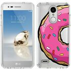 for LG Tribute Dynasty/Empire(Clear) Slim Flexible TPU Skin Phone Case Cover-G