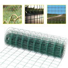 Welded Galvanised PVC Coated Chicken Wire Netting Roll Garden Fencing Mesh Cage
