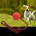 Rope Handle Dog Chew Toy Pet Puppy Chew Toys Solid Rubber Ball Pet Puppy Toys
