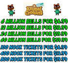 Animal Crossing New Horizons Bells, Nook Miles - Delivery within Seconds