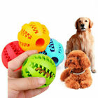 Pet Dog Puppy Teething Dental Health Treat Clean Toy Durable Rubber Ball Chew UK