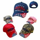 """""""Trump 2020 Keeping America Great"""" 3D Puff Embroidered Hat Many Colors New!"""