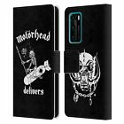 OFFICIAL MOTORHEAD TOURS LEATHER BOOK WALLET CASE COVER FOR HUAWEI PHONES