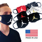Reusable Washable Jumpman Michael Air Jordan Dual Layer Cotton Unisex Face Mask