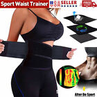 Sport Waist Trainer Weight Loss Sweat Thermo Wrap Body Shaper Belt for Men Women $7.99 USD on eBay