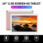 "10.1"" WIFI/4G-LTE 8G+128G Tablet Android 9.0 HD Screen PC SIM GPS Dual Camera US"