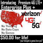Kyпить Verizon Unlimited Hot Spot IMEI number & SIM Card $50 a month. Grandfathered на еВаy.соm