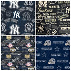 MLB AND NFL FABRIC 1/2 YARD- PERFECT FOR DIY MASK! - READY TO SHIP! $16.9 USD on eBay