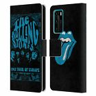 OFFICIAL THE ROLLING STONES TOURS LEATHER BOOK WALLET CASE FOR HUAWEI PHONES