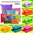 Colored Polythene Plastic Mailing Postal Packaging Bags Strong Self-Seal Strip