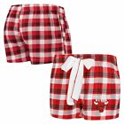 Chicago Bulls Concepts Sport Women's Piedmont Flannel Sleep Shorts - Red/Black on eBay
