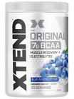 XTEND Original BCAA Powder / 30 servs Best Amino Acids Recovery Glutamine