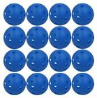 Hollow Plastic Practice Golf Balls Golf Wiffle Balls Air Flow Balls 12/24 Pack