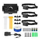 Electric-Dog-Pet-Fence-System-Waterproof-Shock-Collars-For-1-2-3-4-Dogs