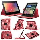 PU Leather 360 Degree Rotating Stand Case Cover for Google Nexus 7 1st Gen 2012
