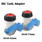 IBC Tank 1000L DN50 75Mm Liter 62Mm To Export Male 2 Inch Butterfly Valve Switc√