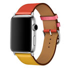 Colourfull Leather Apple watch band