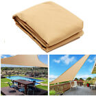 Outdoor Sun Shade Sails Canopy Patio Garden Awning Shelter UV Proof With Rope