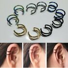 New Women Cartilage Jewelry Non Piercing Stud Earring Dangle Clip-on Ear Cuff