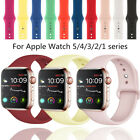 For Apple Watch Sport Band Silicone Iwatch Series 6 5 4 3 2 1 40mm 44mm 38 42mm