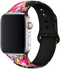 Slim Band for New Apple Watch 42mm 44mm Women/Men,Silicone iWatch 4/3/2/1 image