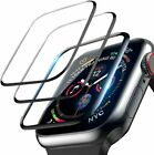 3-Pack For Apple Watch 6 5 4 3 2 SE Full Screen Protector iWatch 38/42 40/44mm